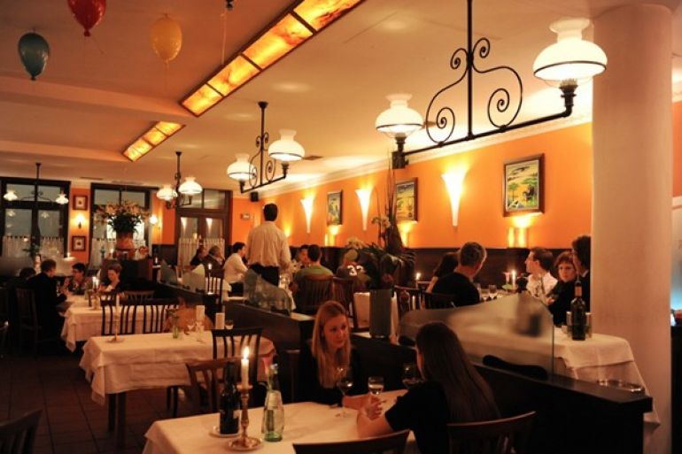 Traditional Italian restaurant in Munich