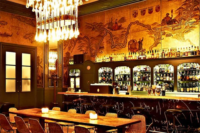 Bars and restaurants in Munich's museums