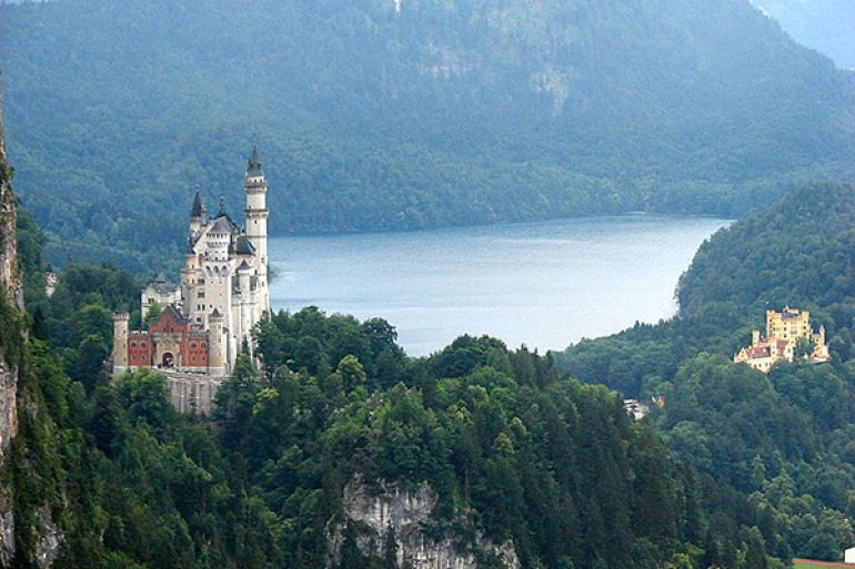 The palaces of king Ludwig II