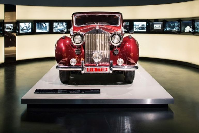 Rolls Royce Exhibition