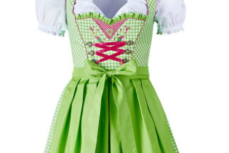 Oktoberfest Dirndl dress: the bow