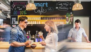smartvillage Pavillon – Coworking  und Office Space im Westend
